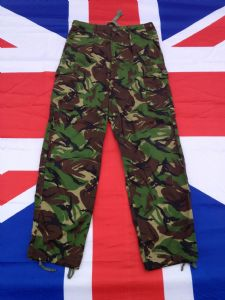 BRITISH LIGHTWEIGHT GREEN DPM COMBAT TROUSERS